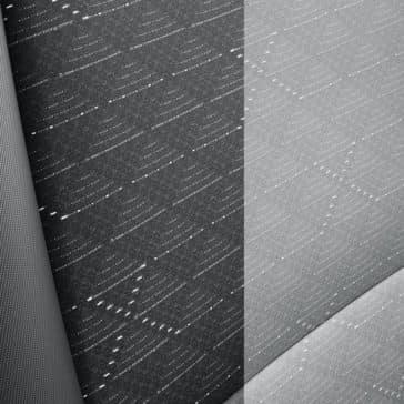 2019 Kia Rio woven cloth seats