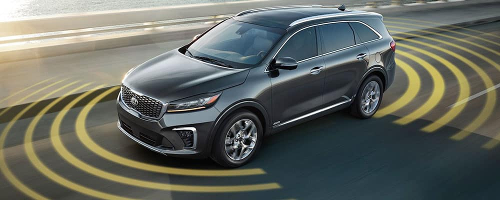 2019 Kia Sorento Drive Wise Assist Technology
