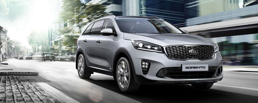 2019 Kia Sorento Driving in City