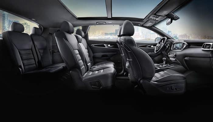 2019 Kia Sorento Interior Folding Seats