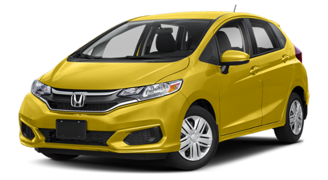 2019 Honda Fit Yellow