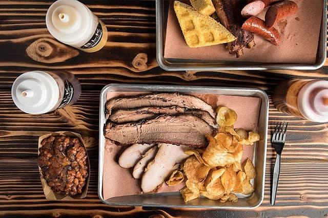 Black Market Smokehouse Food