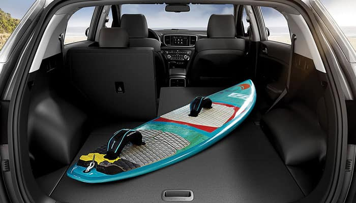 2019 Kia Sportage Interior Features