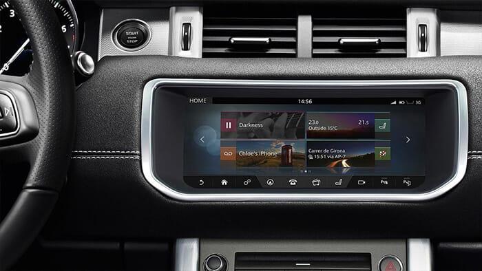 2017 Land Rover Envoque Convertible Technology