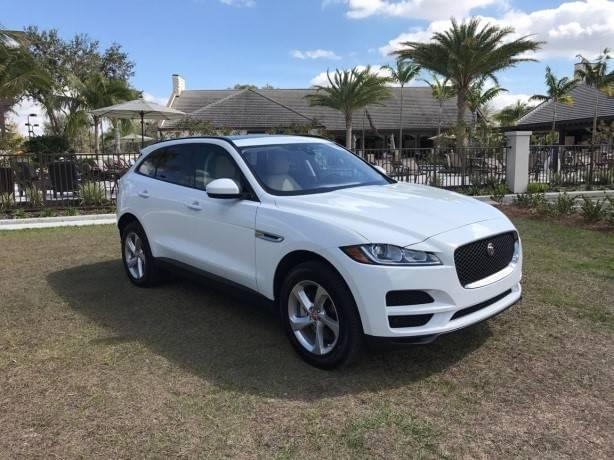 White F-Pace