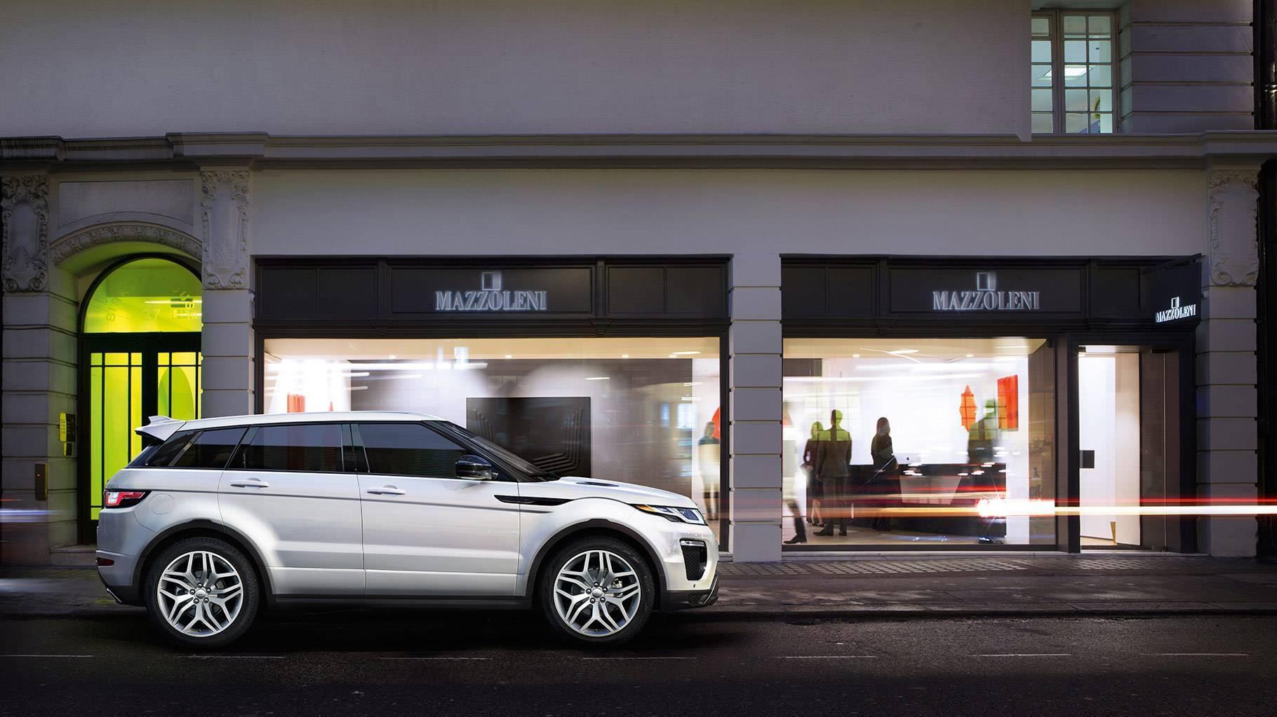 2017 Land Rover Range Rover Evoque Exterior profile