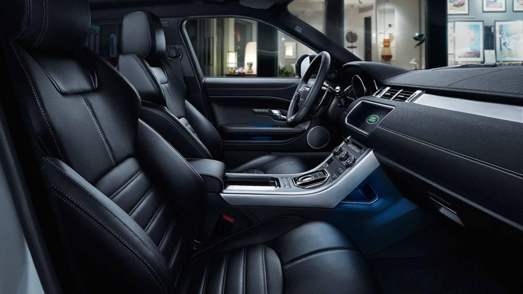 2017 Land Rover Range Rover Evoque Interior Features