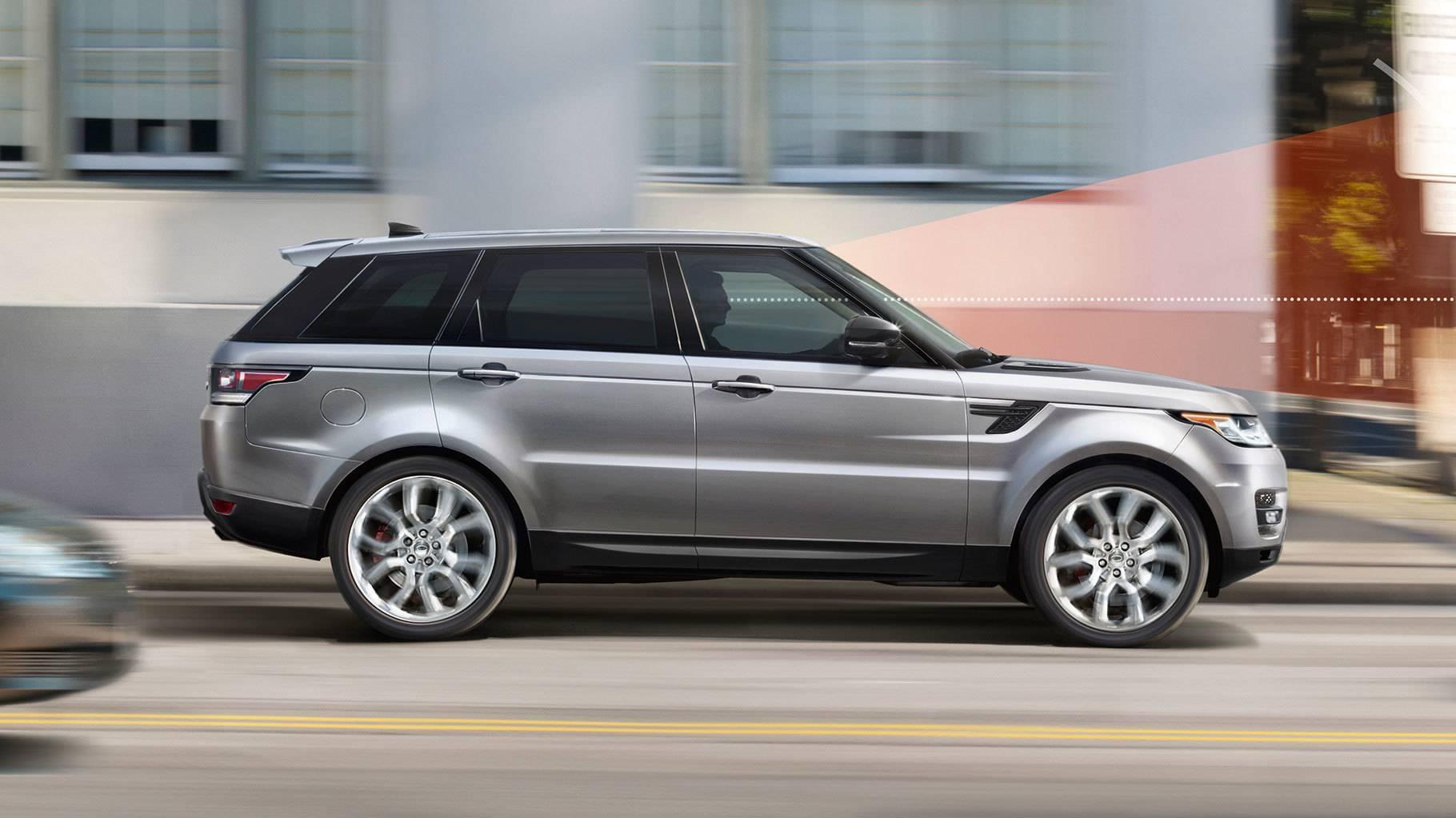 2017 Land Rover Range Rover Sport Exterior profile