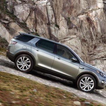 Land Rover Discovery Sport Exterior profile