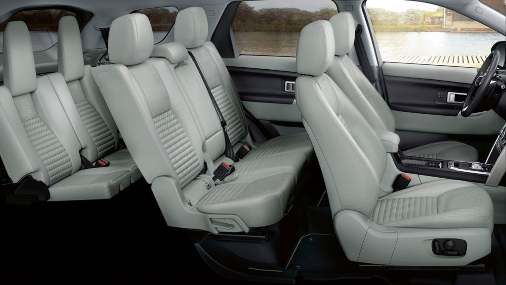 Land Rover Discovery Sport side view Interior