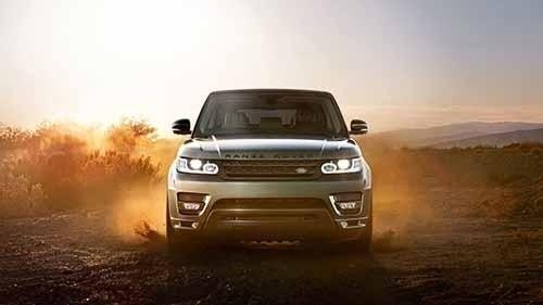 Land Rover Range Rover Sport Off Roading