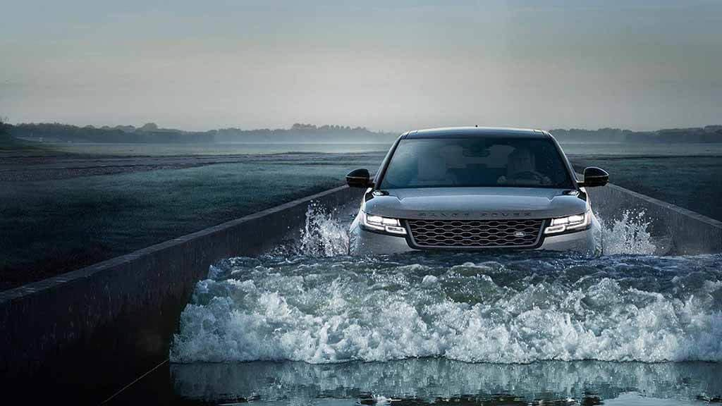 2018 Land Rover Range Rover Velar Wading in Water