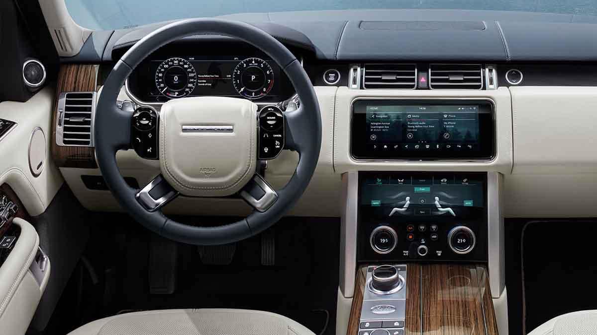 2018 Land Rover Range Rover Interior Dashboard Features