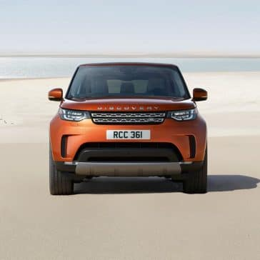 2018 Land Rover Discovery front