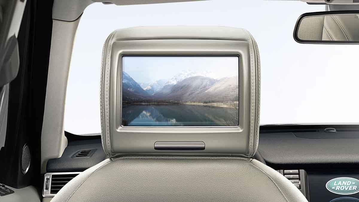 2018 Land Rover Discovery Sport rear entertainment system