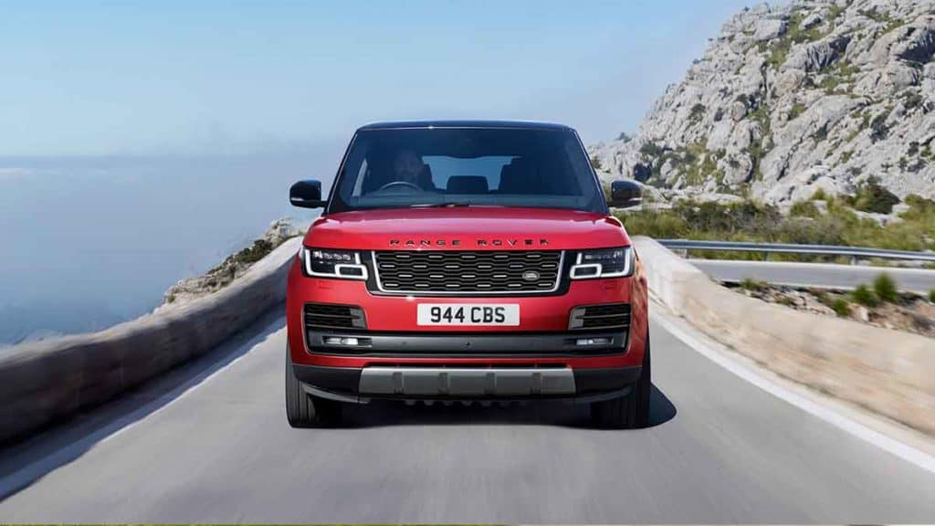 2018 Land Rover Ranger Front End View