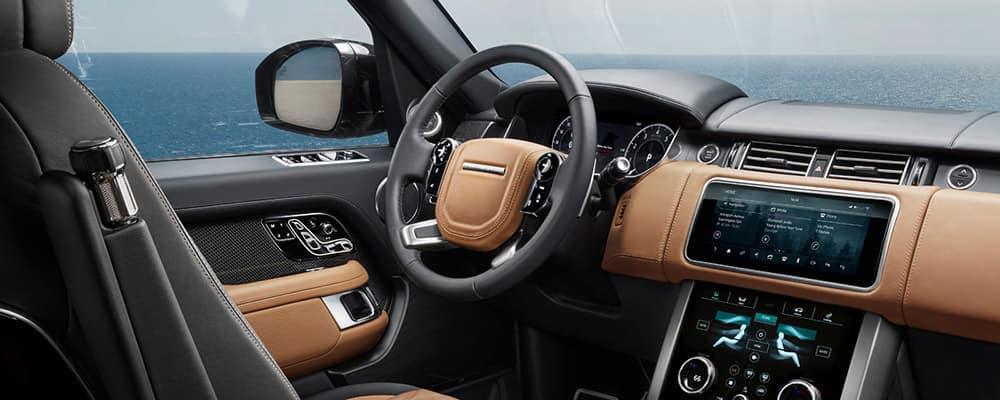 2019 Land Rover Range Rover Interior dashboard