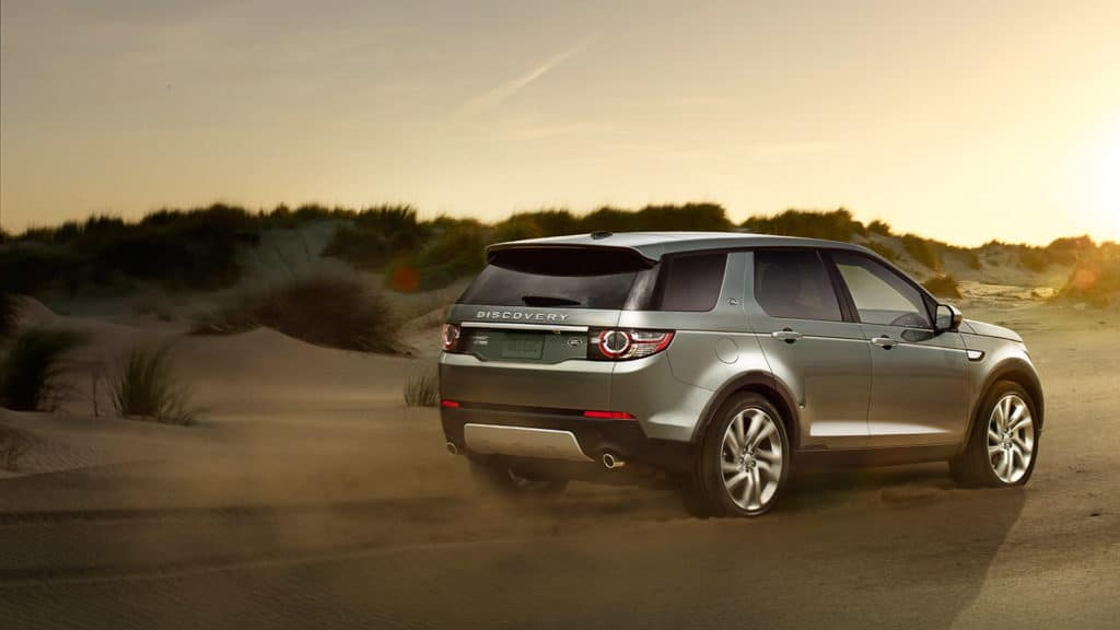 2019 Land Rover Discovery Sport in desert