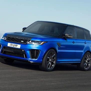2019 Land Rover Range Rover Sport Driving