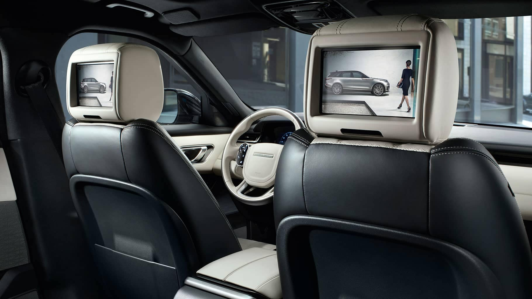 2019 Land Rover Range Rover Velar Rear Entertainment