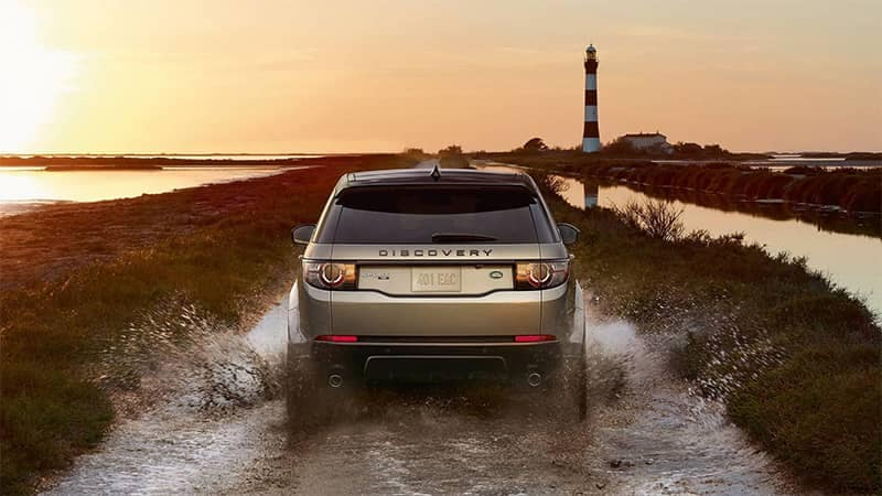 2019 Land Rover Discovery Sport Off-Roading Through Water and Mud