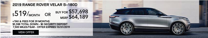 2019 Range Rover Velar Colors Range Rover Velar Color Options