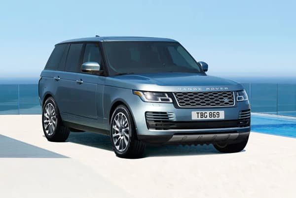 2019 Land Rover Range Rover HSE - Silver exterior parked by the beach