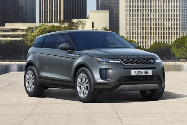 2020 Land Rover Evoque S - Gray exterior parked in the city