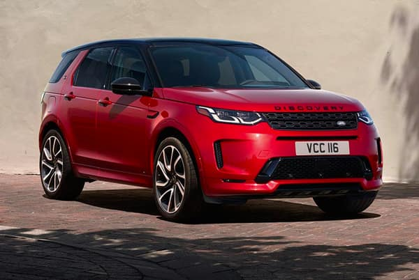 2020 Land Rover Discovery Sport - Red exterior parked title=