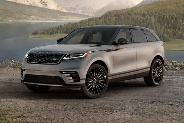 2020 Range Rover Velar  - Silver exterior parked in nature