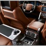 Range Rover Brown Leather Interior