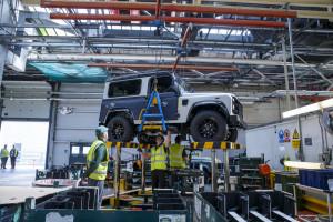 2,000,000 Land Rover Defender