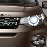 land rover headlamp
