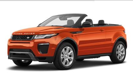 2019 Range Rover Evoque Convertible