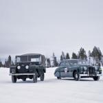 Land Rover Older Models in Snow