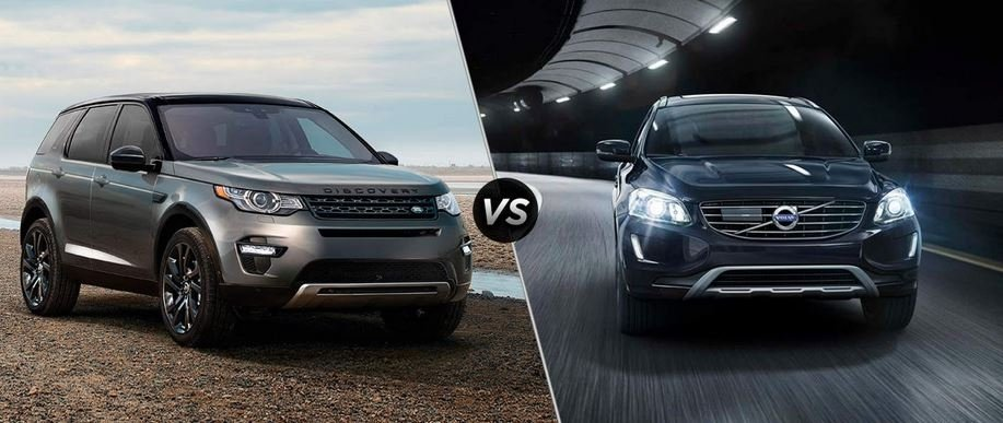 Land Rover Discovery Sport Vs Volvo XC Land Rover - Sport vehicles 2016