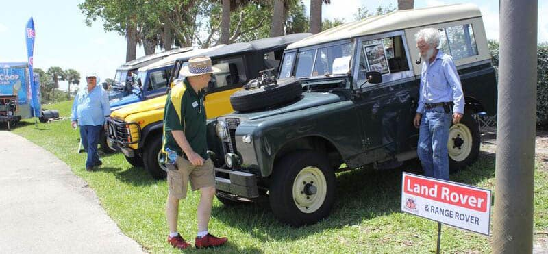 Discover The Wheels Across The Pond British Car Show Land Rover - Palm beach car show