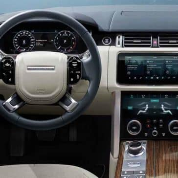 2018 Land Rover Range Rover Interior Dashboard Features