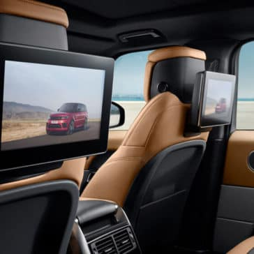 2018 Land Rover Range Rover Sport Rear Entertainment System