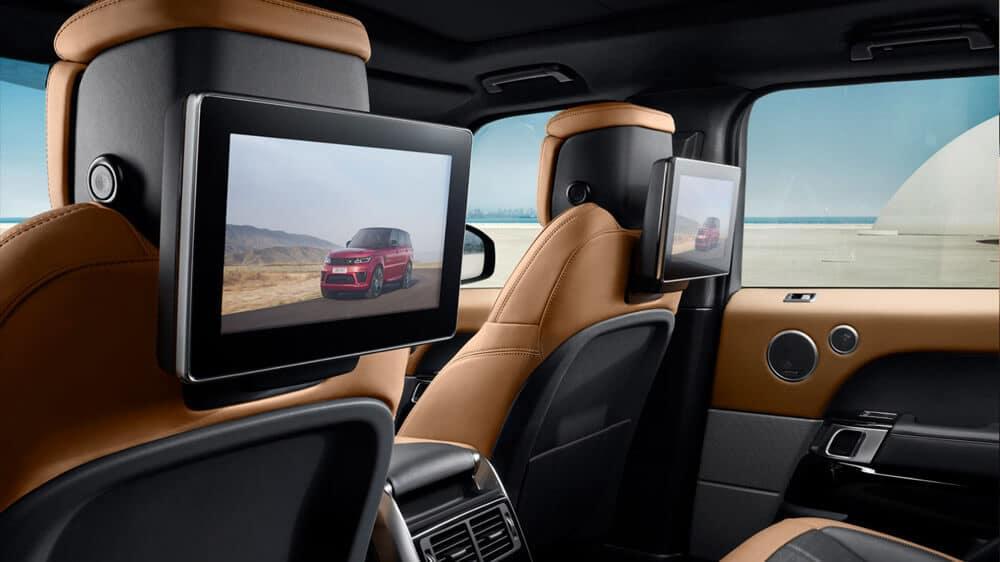 2018 Land Rover Range Rover Sport Rear Entertainment System