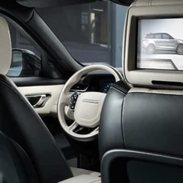 2018 Range Rover Velar Interior Rear Seat Entertainment Features