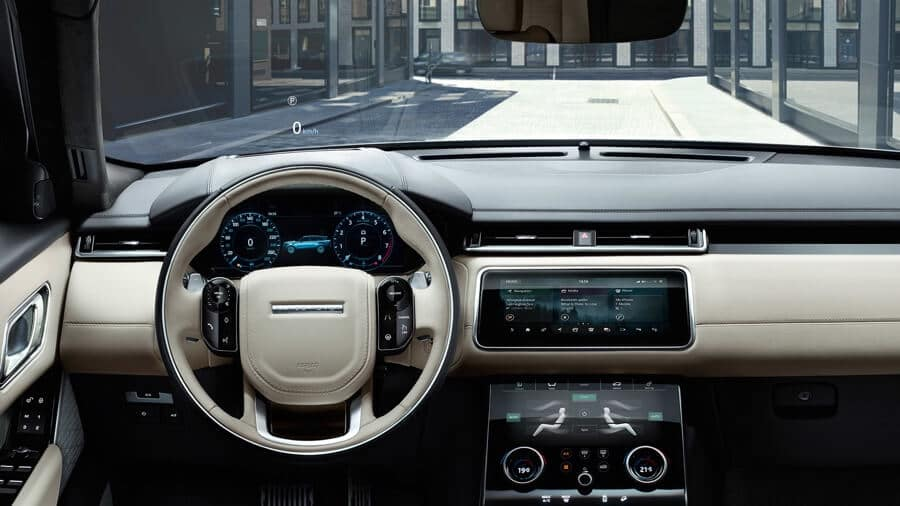 2018 Range Rover Velar Interior Dashboard View