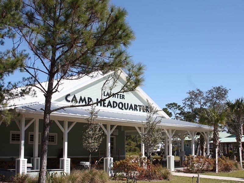 Gulf Stream Council Camp Building