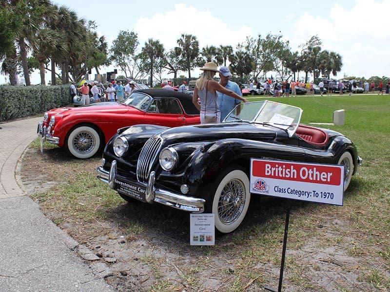 Wheels Across the Pond British Classic Car Show