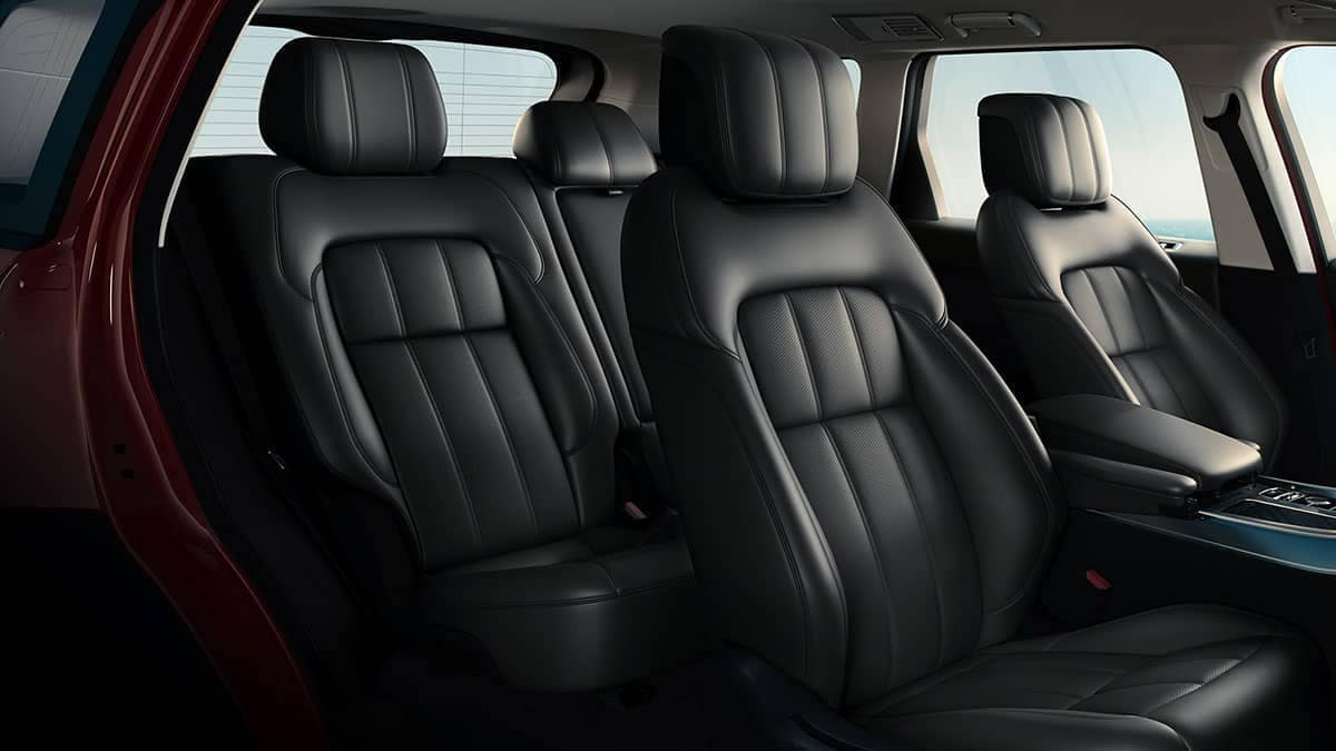 2019 Land Rover Range Rover seating