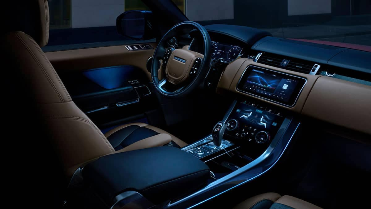 2019 Land Rover Range Rover front interior features
