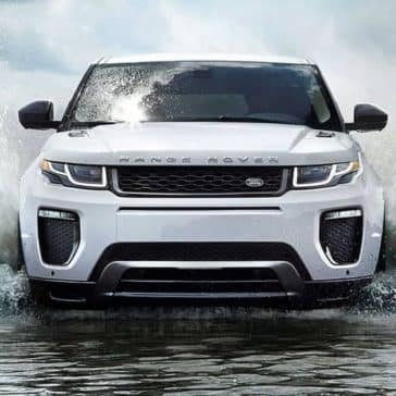 2019 Range Rover Evoque front exterior