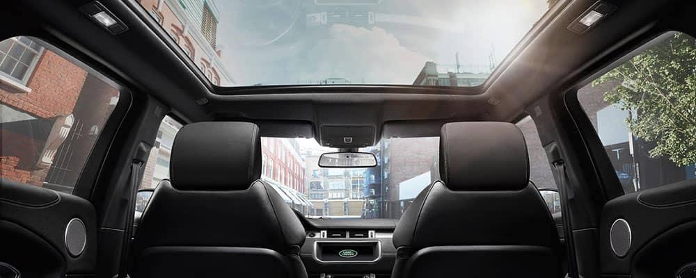 2019 Land Rover Range Rover Evoque Interior