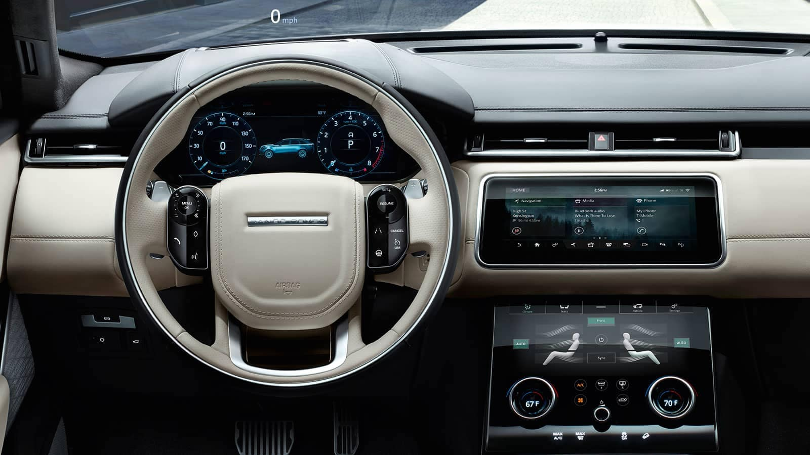 2019 Land Rover Range Rover Velar Dashboard