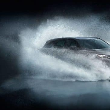 2019 Land Rover Range Rover Velar Driving Through Water